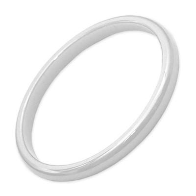 Carousel Innenring Keramik 2mm Weiß - Füllring für Carousel Basisringe