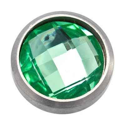 Wechselringe Top Facette Grün, 12 mm