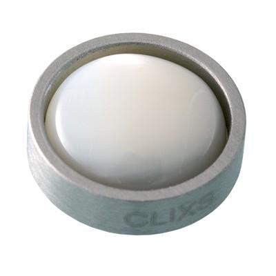 Wechselringe Top Perlmutt Weiß, 12 mm