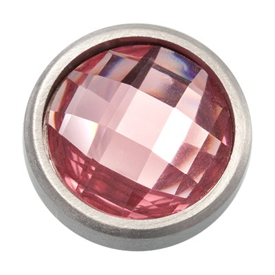 Wechselringe Top Facette Rosa, 12 mm