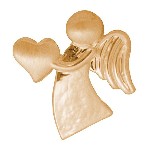 CLIXS Kettenanhänger Schutzengel mit Herz, vergoldet