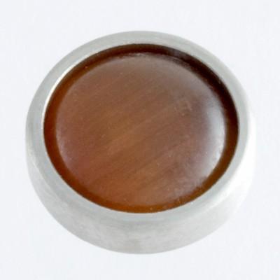 Wechselringe Top Katzenauge Braun, 12 mm