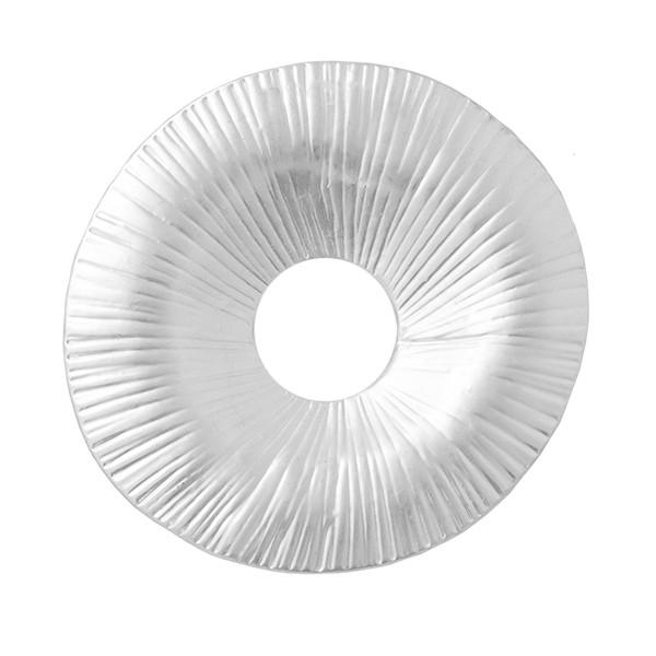 Wechselringe Metallscheibe, versilbert