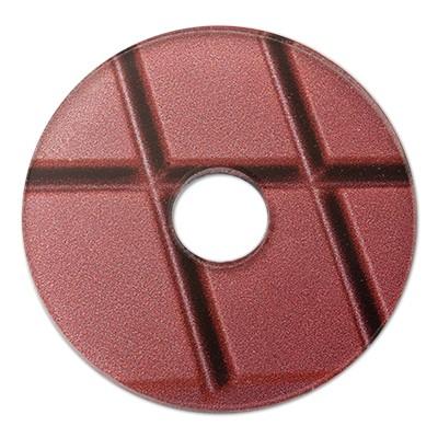 Wechselringe Acrylscheibe Schokolade, 30mm