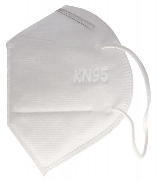 Atemschutzmaske KN95 FFP2 NR D mit Nasenclip - zertifiziert - Coronaschutz für die Mitmenschen
