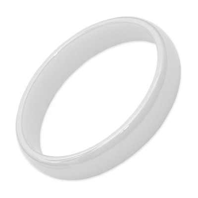 Carousel Innenring Keramik 4mm Weiß - Füllring für Carousel Basisringe