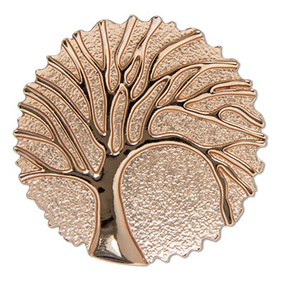 CLIXS Kettenanhänger Baum des Lebens rosévergoldet