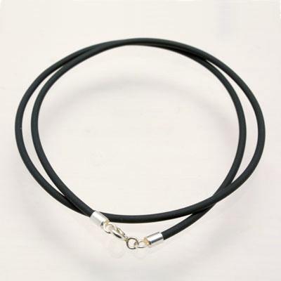 CLIXS Kautschukband Halskette Modeschmuck 50 cm