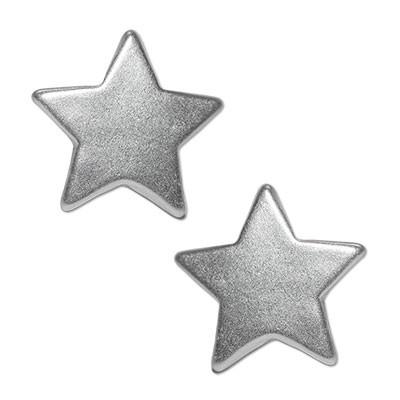 CLIXS Ohrringe Ohrstecker kleiner Stern, versilbert