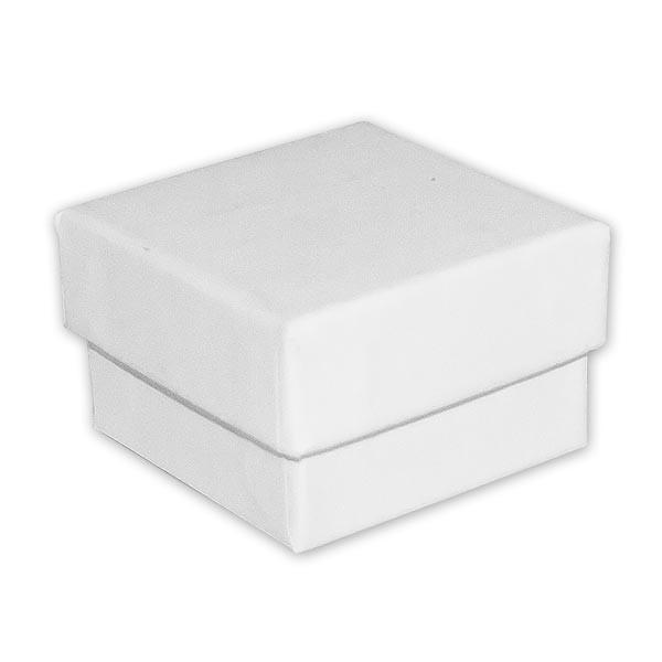 Ringddose Weiß - ca. 5,1cm x 5,1cm x 3,3cm