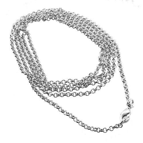 CLIXS Halskette Gliederkette - M - 75 cm+5