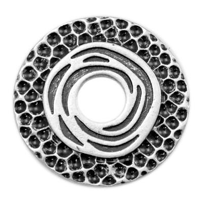 Wechselringe Metallscheibe Mistico, versilbert