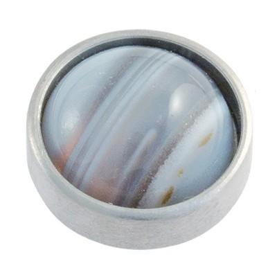 Wechselringe Top mit Perle, 12mm