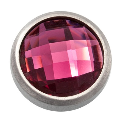 Wechselringe Top Facette Pink, 12 mm