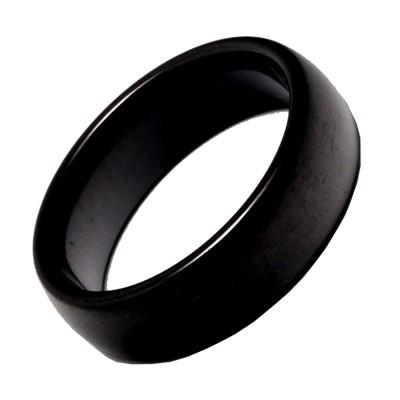 Keramikring Schwarz, 6mm