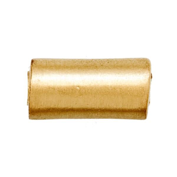CLIXS Kettenanhänger Walze 10mm - vergoldet