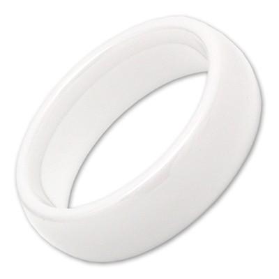 Keramikring Weiß, 6mm